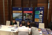 Visitors finding out what Orbix International School has to offer