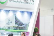 Eaton International School booth