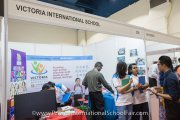Victoria International School booth