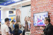 Epsom College Malaysia booth