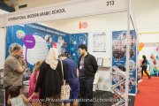 International Modern Arabic School booth
