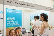 Habitat for Humanity Hong Kong booth
