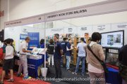 University Book Store Malaysia booth
