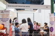 Brain Builder Singapore Maths booth