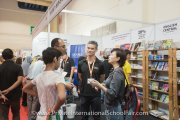 Visitors at University Book Store Malaysia booth