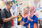 The National Autism Society of Malaysia (NASOM) booth