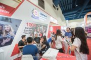 Visitors at Sunway International School booth