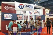 The Oasis International School booth