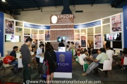 The Epsom College in Malaysia booth