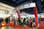 The Taylor's Schools booths