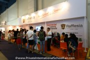 The Rafflesia International & Private Schools booth