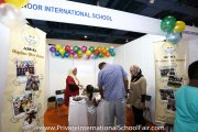 The Al-Noor International School booth