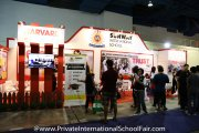 The Sunway International School booth