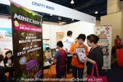 The Crafty Minds booth