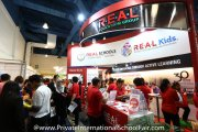 The R.E.A.L. Schools & R.E.A.L. International Schools booth