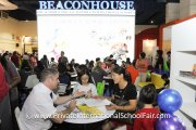 It's a full house at the Beaconhouse booth
