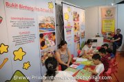 The Bukit Bintang Preschool booth