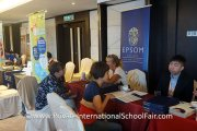 Parents speaking to school representatives from Epsom College Malaysia