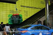 Our ad at the entrance of Suntec Singapore Convention & Exhibition Centre