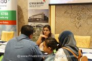 Parents finding out what Crescendo-HELP International School has to offer