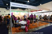 The Eaton International School booth