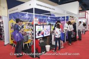 VIsitors finding out what Fairview International School has to offer