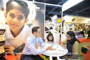 A parent finding out more about GEMS International School
