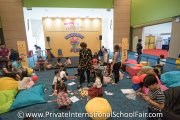 Kids learning about Singapore Mathematics with HELP International School