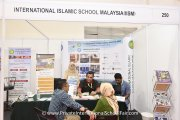 Visitors speaking to International Islamic School Malaysia representatives