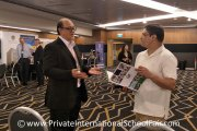 Finding out International School Brunei offerings at the fair