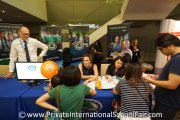 Visitors at Tenby Schools Penang's table
