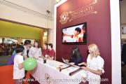Kingsgate International School representatives speaking to visitors
