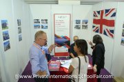 Understanding more about studying in the UK at the LLandrillo Menai International booth