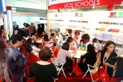 The UCSI Schools booth