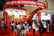The Taylor's International School booth