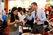 Our fairs are all about parents learning what they need to know about international education