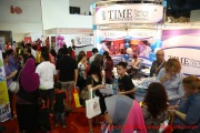 The Time International School booth