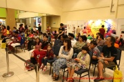 The audience at the PISF Spelling Wiz Contest