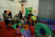 Kids having fun at the Gymboree Play & Music area