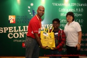 Mr Raajsh Kumar from MPH Bookstores with the 2nd prize winner from Category C