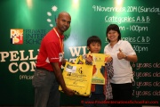 Mr Raajsh Kumar from MPH Bookstores with the 1st prize winner from Category C