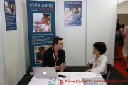 Introducing UK education - the Ashbourne College, UK booth