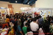 The Singapore Discovery Centre booth seems pretty busy