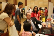 McGraw-Hill Education representatives gave demonstrations and presentations