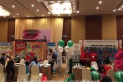 The Fairview International School and Straits International School booths