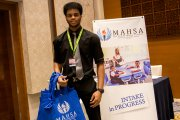 A representative from MAHSA International School