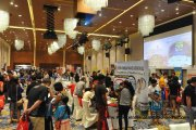 The crowd at the 4th PISF in Johor
