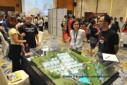Ponderosa Woods showcasing its new development in Johor at its table