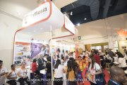 Visitors at the Rafflesia International & Private Schools booth