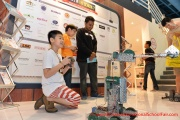 Robotics demonstration at the Jaya One booth